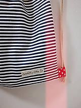 Iné tašky - Vrecko pruzkové - Zaľúbený námorník - 10413633_