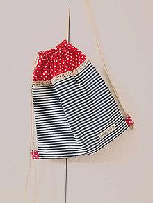 Iné tašky - Vrecko pruzkové - Zaľúbený námorník - 10413626_