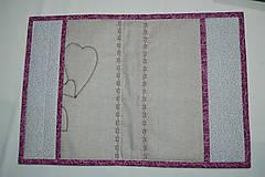Úžitkový textil - srdce - 10413662_