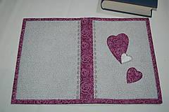Úžitkový textil - srdce - 10413663_
