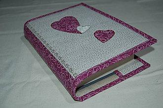 Úžitkový textil - srdce - 10413660_