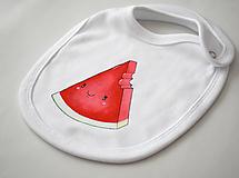 Detské doplnky - Podbradník melón - 10417434_
