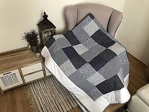 Úžitkový textil - Vzor modrotlač - 10414373_