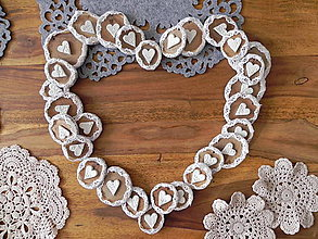 Darčeky pre svadobčanov - Svadobné medovníčky, magnetky - večná láska:-) - 10415919_