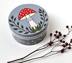 Krabičky - Krabička-Muchotrávka - 10414983_