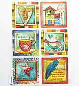 Papier - Ryžový papier na decoupage -A4-Stamperia- DFSA4332 - 10414954_