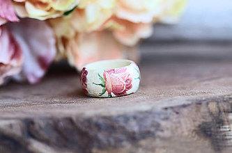 Prstene - Prsteň - Romantic Rose - 10414323_