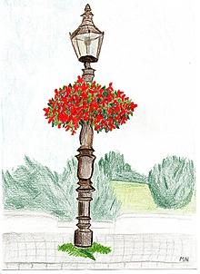 Kresby - Lampa obrázok - 10414191_