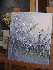 Obrazy - Hmla v tráve - 10415756_