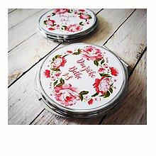 Darčeky pre svadobčanov - Svadobné zrkadielko - 10415695_