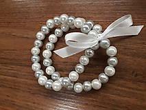 Náramky - Náramok z perličiek - 10416379_
