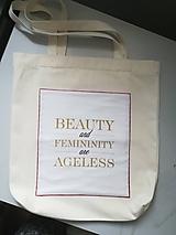 Nákupné tašky - Taška - pre krásnu ženu. - 10417062_