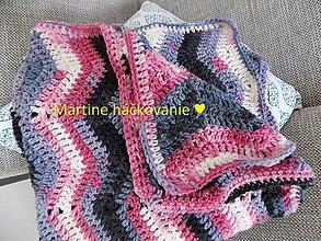 Textil - deka do kočíka - 10416786_
