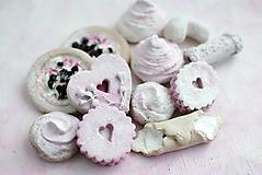 Dekorácie - Sweet Culinarium: Capucino s jogurtovou malinou - 10415524_