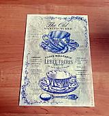 Papier - ryžový papier šálky - 10414940_