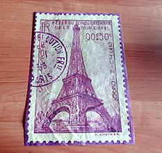 Papier - Ryžový papier Eiffel - 10414953_