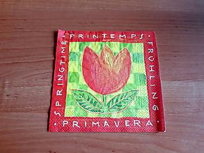 Papier - servítka Primavera - 10414984_