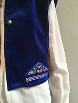Iné oblečenie - Modrááá - 10417646_