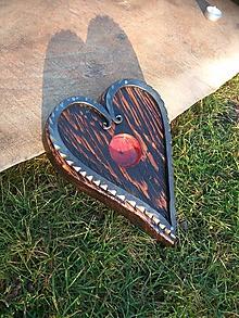 Svietidlá a sviečky - Svietni -Zajaté srdce malého dubu- - 10414833_