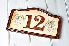 Tabuľky - Číslo domu z keramiky - 10414883_