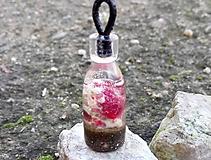 Náhrdelníky - Prívesok Pink Coral - 10414517_