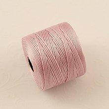 Galantéria - Nylonové nite 0,62 mm (Ružová) - 10416222_
