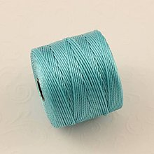 Galantéria - Nylonové nite 0,62 mm (Tyrkysová) - 10416233_