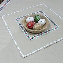 Úžitkový textil - ONDREJ -  folklór v kuchyni štvorec 40x40 - 10417446_