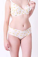 Bielizeň/Plavky - Nohavičky bez gumičky, bio bavlna GOTS - 10417467_