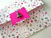 Papiernictvo - Darčeková obálka