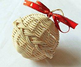 Dekorácie - Vianočná guľa - 10415309_