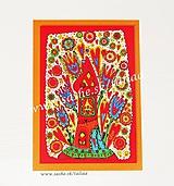 Papiernictvo - DOMČEK ♥ klasická pohľadnica - 10414305_