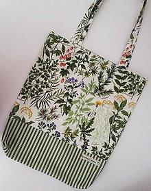 Nákupné tašky - Botanic&Stripes - 10414484_