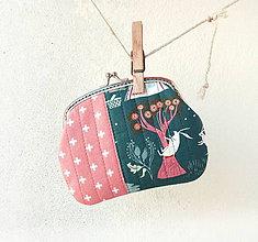 Peňaženky - Peňaženka XL Piknik zvieratiek - 10414433_