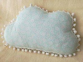 Úžitkový textil - Children's pillow - detský vankúš obláčik. - 10416422_