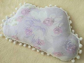 Úžitkový textil - Children's pillow - detský vankúš obláčik. - 10416432_
