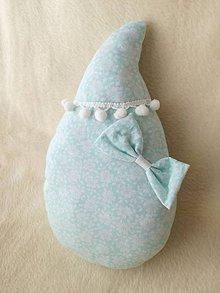 Detské doplnky - Children's pillow - detský vankúš kvapka. - 10416465_