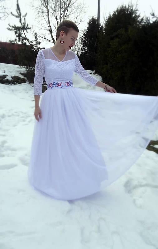f158a751b7d7 Svadobné šaty   FolkJarka - SAShE.sk - Handmade Šaty