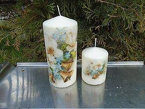 Svietidlá a sviečky - nezábudky - 10416093_