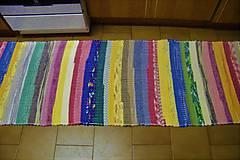 Úžitkový textil - Tkaný koberec pestrofarebný 8 - 10416931_