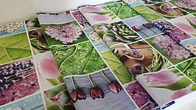 Úžitkový textil - Jarný set  (Stredový obrus kvetinovy 135×40 cm) - 10420231_