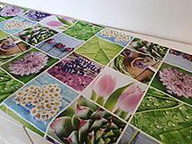 Úžitkový textil - Jarný set  (Stredový obrus kvetinovy 135×40 cm) - 10420243_