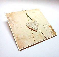 Papiernictvo - Pohľadnica ... vzorovaná láska - 10420697_