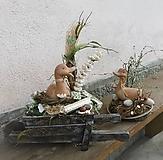Dekorácie - Jarný set s kačičkami - 10419670_