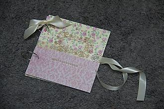 Papiernictvo - Svadobná kniha hostí resp.fotoalbum - 10421078_