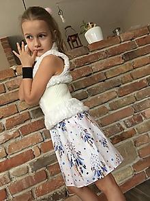 Detské oblečenie - Sukňa - Lapač snov biela - 10419385_