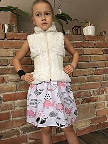 Detské oblečenie - Sukňa - Veľryba - 10419428_