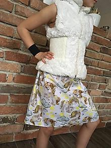Detské oblečenie - Sukňa - Jednorožec - 10419461_