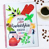Papiernictvo - Moja veľká KUCHÁRSKA kniha - 10418178_