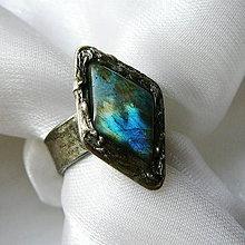 Prstene - Prsteň s labradoritom ☼ GHISLAINE ☼ - objednávka na želanie - 10419421_